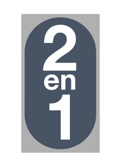 2 en 1
