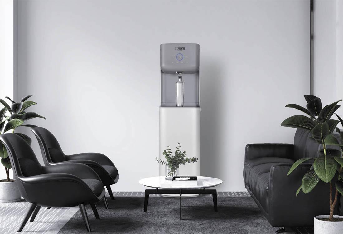 Fuente de agua Atrium Polar para oficina sin bombona