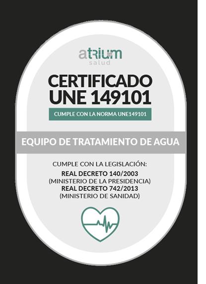certificado une 149101